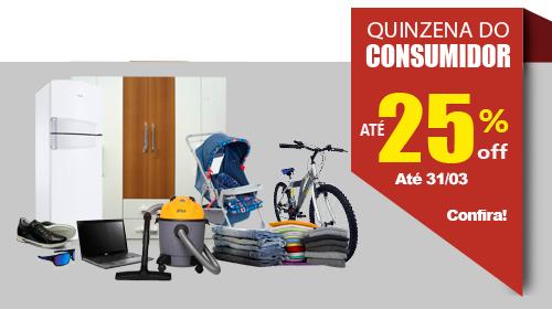 Quinzena do Consumidor Mercatudo Casas André Luiz - Bazar Beneficente