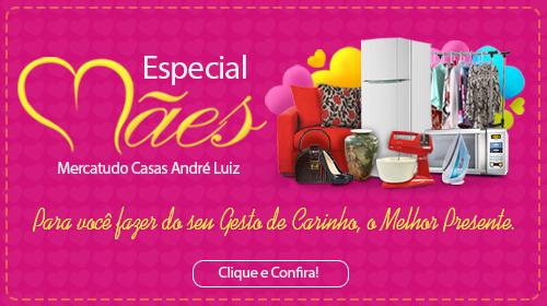 Faça sua Doação - Brechó Solidário Mercatudo Casas André Luiz - Bazar Beneficente - Dia das Mães