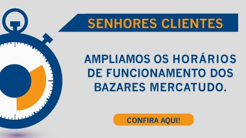 Faça sua Doação - Brechó Solidário Mercatudo Casas André Luiz - Bazar Beneficente - Novos Horários