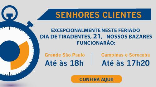 Faça sua Doação - Brechó Solidário Mercatudo Casas André Luiz - Bazar Beneficente - Feriado