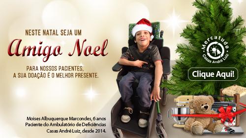 Faça sua Doação - Brechó Solidário Mercatudo Casas André Luiz - Bazar Beneficente - Feliz Natal e Boas Festas